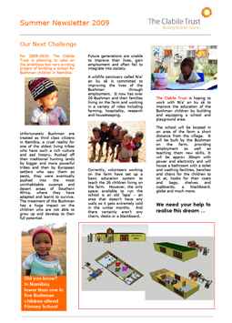 SummerNewsletter2009