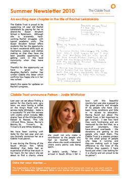 SummerNewsletter2010