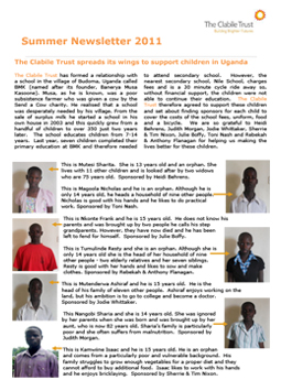 SummerNewsletter2011