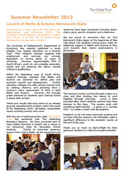 SummerNewsletter2012